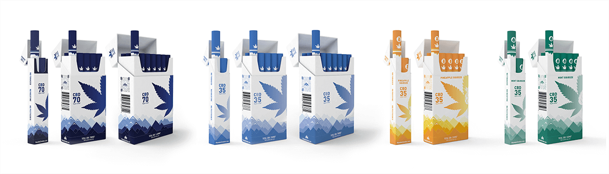 Mountain Smokes Hemp CBD Cigarette Products
